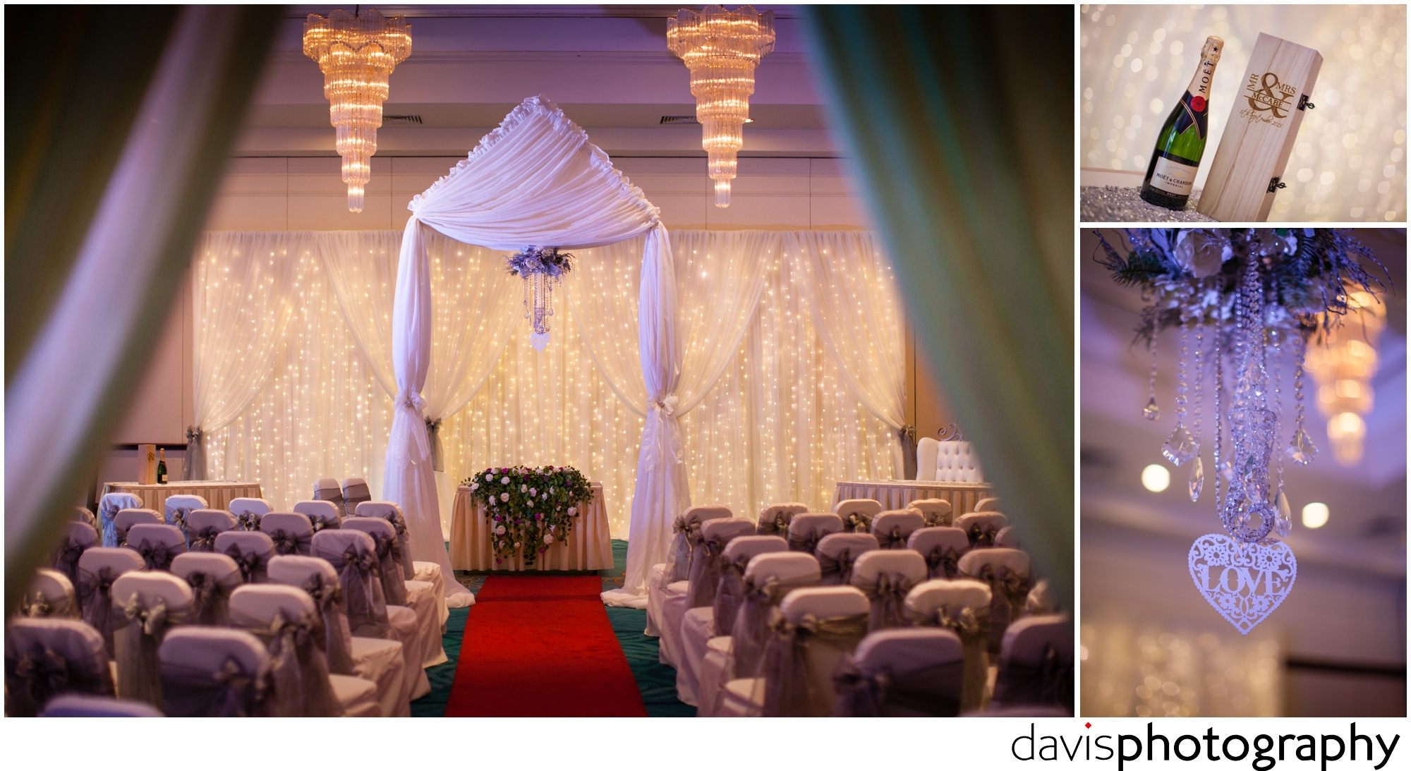beautiful room decor for weddings