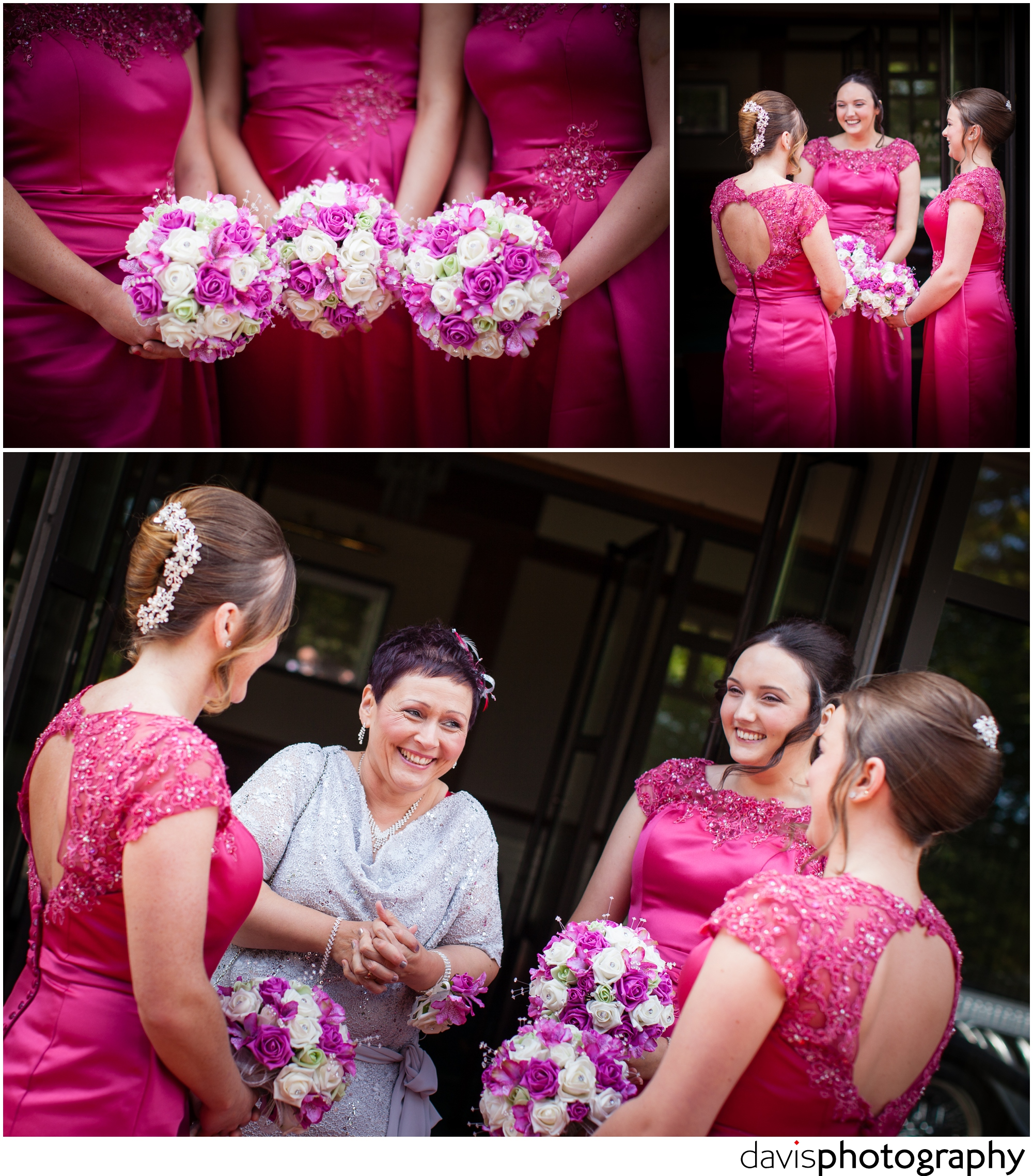 relaxed bridesmaids before marriage