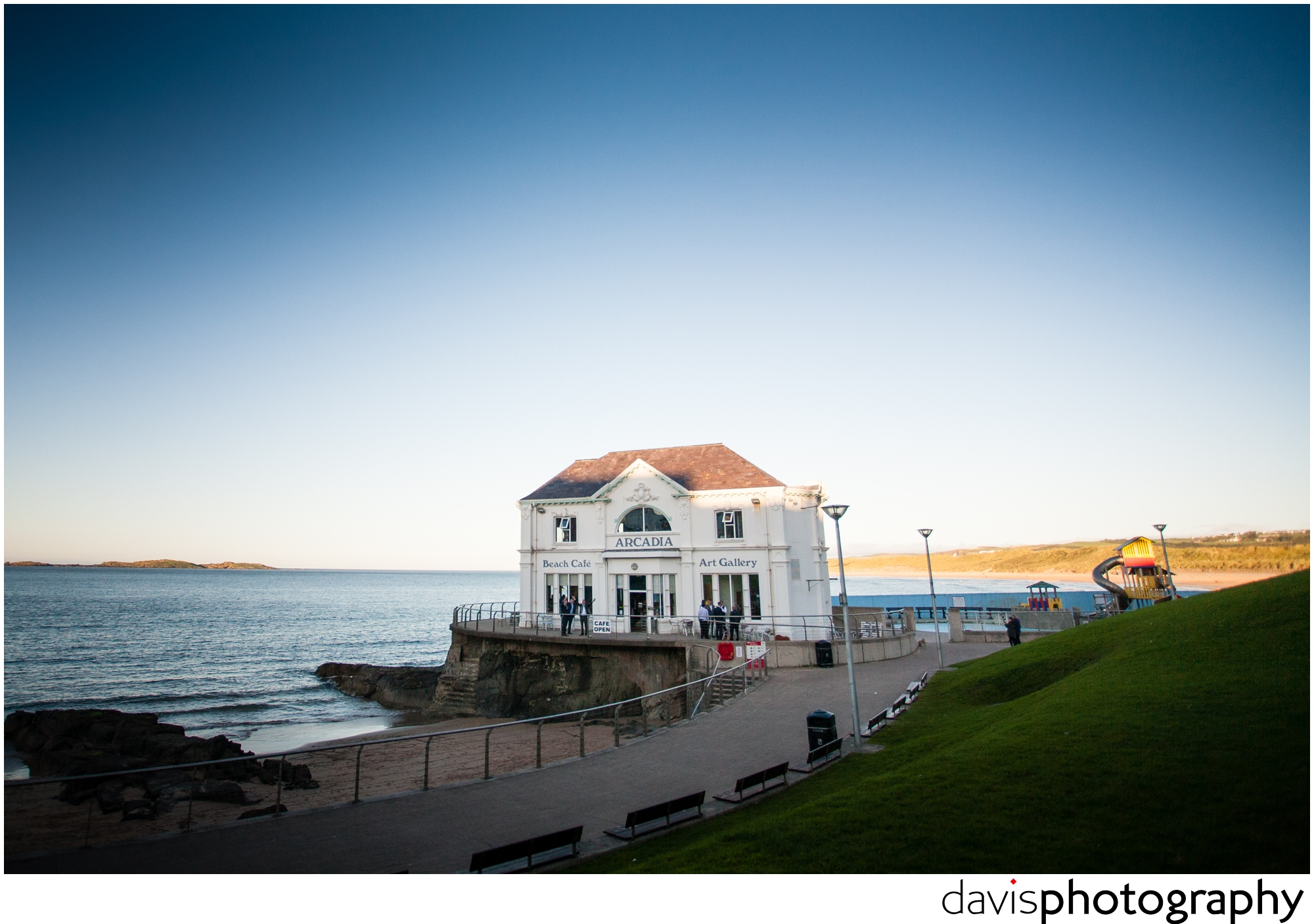 retro seaside wedding venue
