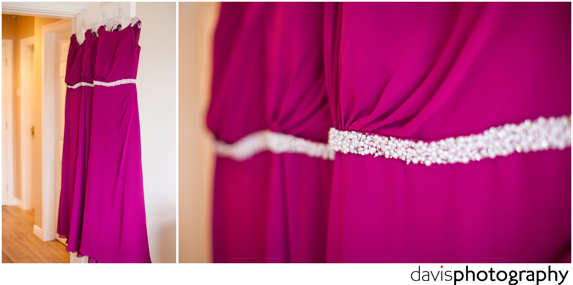 bridesmaids dresses with bodice details