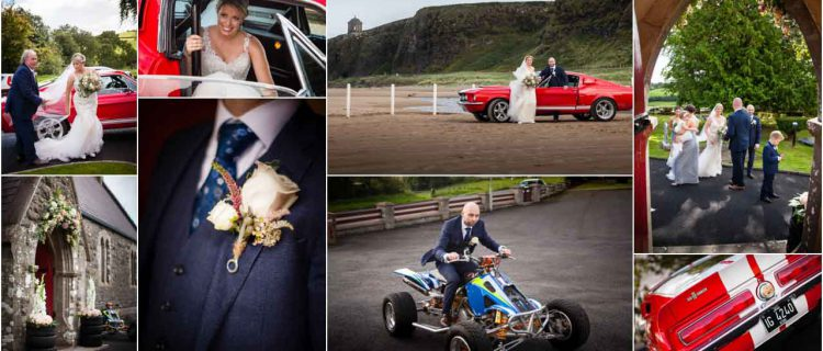 two petrol heads get married