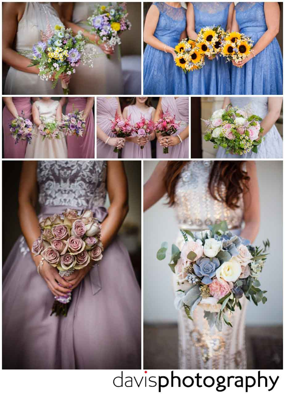 bridesmaids bouquets